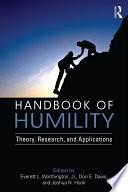 Handbook of Humility