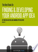 The Best Book On Finding   Developing Your Android App Idea