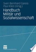 Handbuch Milit  r und Sozialwissenschaft