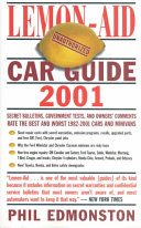 Lemon Aid Car Guide 2001