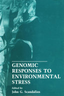 Genomic Responses To Environmental Stress book