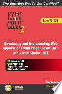 Developing And Implementing Web Applications With Visual Basic Net And Visual Studio Net