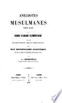 Anecdotes musulmanes