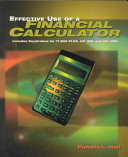 Effective Use Of A Financial Calculator