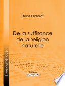 La Religion Naturelle par Denis Diderot, Ligaran,
