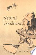 Natural Goodness Book PDF