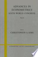 Advances in Econometrics  Volume 1