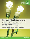 Finite Mathematics for Business  Economics  Life Sciences and Social Sciences  Global Edition