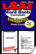 LSAT Test Prep Essential Word Roots  Exambusters Flash Cards  Workbook 2 of 3