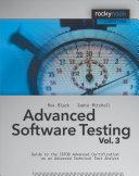 Advanced Software Testing   Vol  3