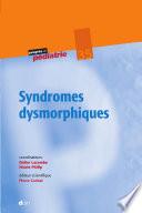 illustration du livre Syndromes dysmorphiques