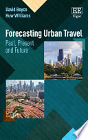 Forecasting Urban Travel