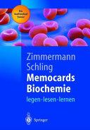 Memocards Biochemie
