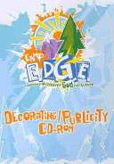 Vacation Bible School 2009 Camp E  D  G  E  Decorating Publicity CD ROM VBS