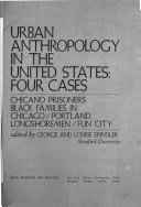 Urban Anthropology in the United States