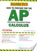 Barron s how to Prepare for the AP Calculus
