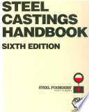 Steel Castings Handbook  6th Edition