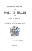 Annual Report - Mississippi State Board of Health