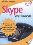 Skype che funziona  Telefonate gratis e low cost  videochiamate  sms  chat  podcasting e scambio file