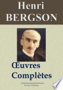 illustration du livre Bergson : Oeuvres complètes
