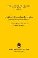 Ernst Boerschmann: Pagoden in China
