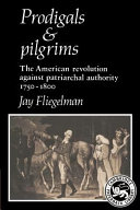 Prodigals and Pilgrims