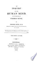 An Inquiry Into the Human Mind