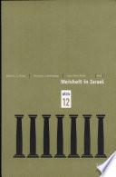 Weisheit in Israel