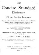 Concise Standard Dictionary of the English Language