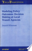 Modeling Policy Outcomes