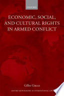 Economic  Social  and Cultural Rights in Armed Conflict