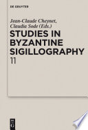 Studies in Byzantine Sigillography
