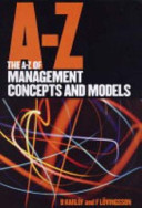 The A Z of Management Concepts and Models