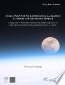Development of an illumination simulation software for the Moon s surface