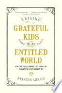 Raising Grateful Kids in an Entitled World