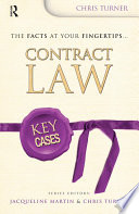Key Cases  Contract Law