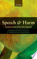 Speech and Harm