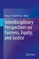 download ebook interdisciplinary perspectives on fairness, equity, and justice pdf epub