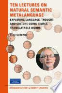 Ten Lectures on Natural Semantic MetaLanguage
