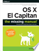 OS X El Capitan  The Missing Manual
