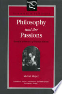 Philosophy and the Passions