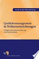 Qualitätsmanagement in Wellnesseinrichtungen