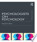 Psychologists on Psychology  Classic Edition