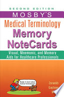 Mosby S Medical Terminology Memory Notecards