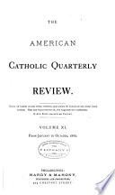 The American Catholic Quarterly Review Book PDF