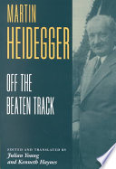 Heidegger  Off the Beaten Track