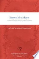 Beyond The Meme
