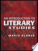 An Introduction to Literary Studies