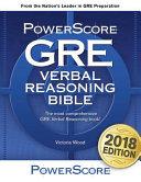 The Powerscore GRE Verbal Reasoning Bible