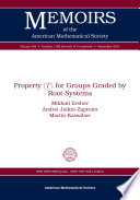 Property     for Groups Graded by Root Systems
